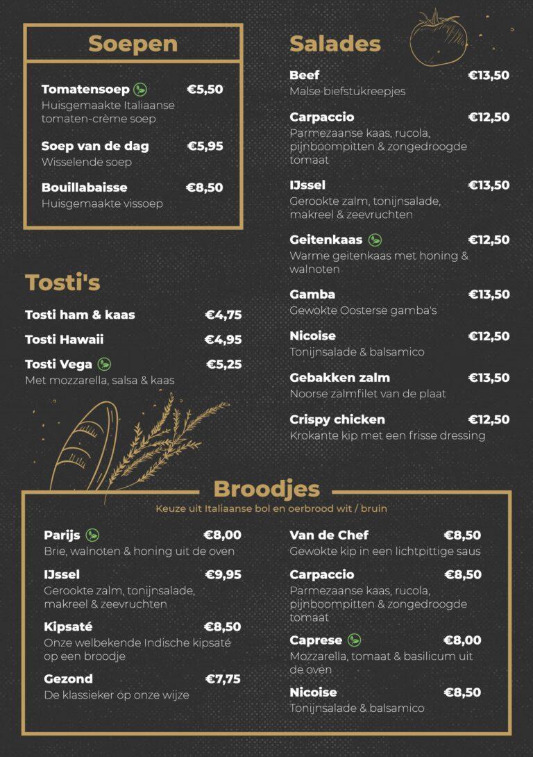 IJsselpaviljoen Lunch 2